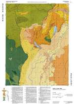 Genoa quadrangle: Geologic map