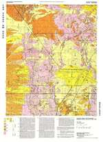 Las Vegas NW quadrangle: Geologic map