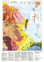 Geologic map of the Boulder Beach quadrangle, Nevada