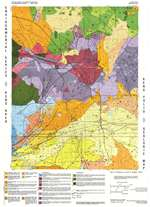 Reno folio: Geologic map