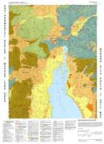 Washoe City folio: Soil map