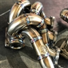 Archer Fabrications Bottom Mount T4 Open Scroll Turbo Manifold (DSM)