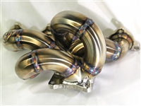 Archer Fabrications Billet Series Factory Replacement Twin Scroll Turbo Manifold (Evo 8/9)