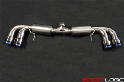 "Boost Logic 2009+ 4"" Titanium Exhaust (R35 GTR)"