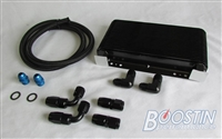 **Boostin Performance Oil Cooler Kit** (DSM/Evo 8/9)