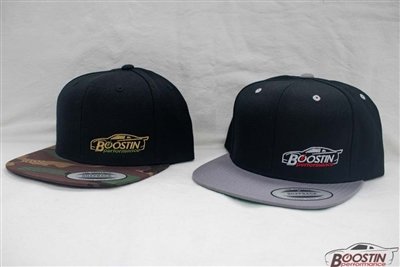 Boostin Performance - Flat Bill Snap Back Hat