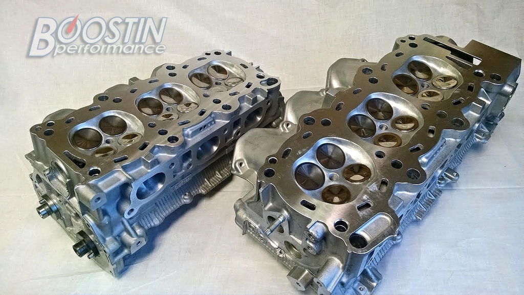 **Boostin Performance CNC Ported Stage 3 Cylinder Head** (R35 GT-R)