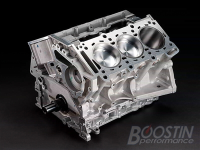 **Boostin Performance Stage 3 Short Block** (R35 GT-R) - 3.8L / 4.1L