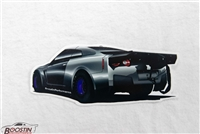 Boostin Performance R35 GT-R - GladiaToR Decal