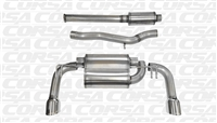 Exhaust System - Corsa Dual Tip Catback Exhaust System (Evo X)