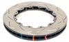 Brakes - DBA T3 5000 Series T-Slot Uni-Directional Slotted Replacement Rotor; Front (2009-2011 R35 GT-R)