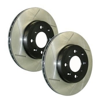 Rotors - Power Slot AWD/FWD Rear Pair (90-94)
