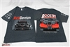 Boostin Performance Red Demon V2 T-Shirts (Double sided - Grey)