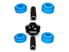 Bushings - Torque Solution Solid Differential Bushing w/ Urethane Inserts (EVO X)