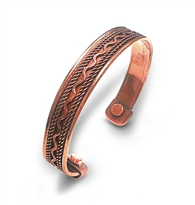 Magnetic Copper Bracelet (One Size Fits All)