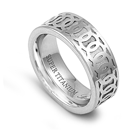 Super Titanium Ring STR-089