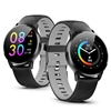 1.3-inch Smartwatch by Indigi with Heart Rate and Activity Tracking, Sleep Monitoring, Ultra-Long Battery Life (Black)