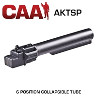 CAA AKTSP M4 Stamped Buffer Receiver 6 Position Polymer Tube AK47