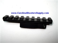AK47 Saiga Vepr scout scope rail red dot CSS