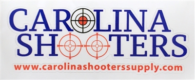CAROLINA SHOOTERS SUPPLY CAR STICKER