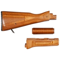 AK47 WOOD STOCK SET SAIGA Brown LAMINATE