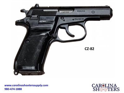 CZ-82 9x18 Caliber Surplus Pistol - Good Condition