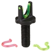 HIVIZ AR15 SAIGA FIBER OPTIC AR2008 FRONT VIZ SIGHT  POST