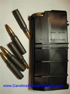 SGM Tactical SAIGA Rifle 308 Surefire 20rd High Capacity Mag Magazine