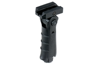 UTG LEAPERS  UTG Ambidextrous 5-position Foldable Foregrip, Black