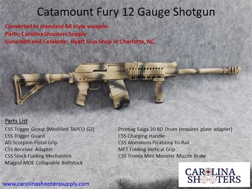 CATAMOUNT FURY I & II