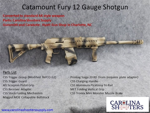 Best Catamount Fury Shotgun Parts and Accessories for Sale