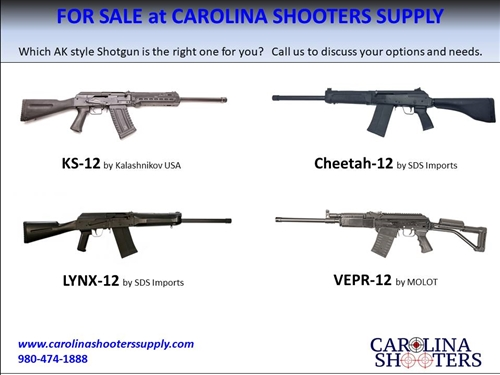 Firearms For Sale at CSS