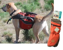 Henry and Clemmies Medium Red Dog Pack