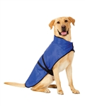 Fashion Pet Essential Dog Blanket Jacket Blue Large