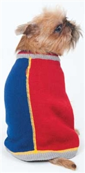 Fashion Pet Half and Half Sweater Small