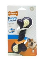 Nylabone Puppy Double Action Chew Toy Made in the USA
