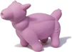 Pink Pig Balloon Animal Dog Toy Squeaky