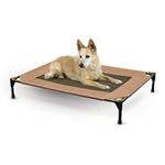 K&H Pet Products Pet Cot Large Chocolate Raised Dog Bed