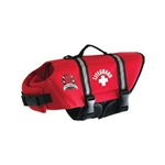 Red Paws Aboard Neoprene Life Jacket Small