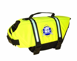 Yellow Paws Aboard Neoprene Life Jacket Small