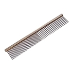 #1 All Systems 7.5 Coarse and Medium Tooth Stainless Steel Comb