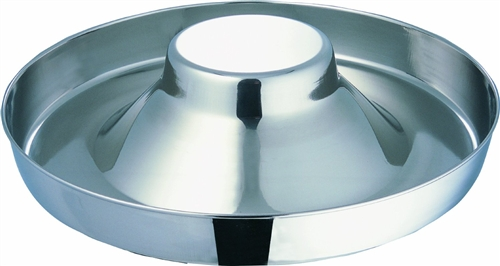 Stainless Steel Puppy Feeder 15 inch Food Bowl  c6dfd5cb5