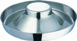 Stainless Steel Puppy Feeder Bowl 15 inch Food Bowl