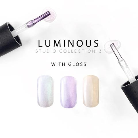 AKZENTZ LUXIO LUMINOUS STUDIO 3 COLLECTION (3 COLORS)