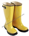 8.697-131.0 Yellow Hazmat Oil Spill Clean Up Boots Size XL