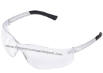 8.697-142.0 Clear Lens Wrap Around Safety Glasses