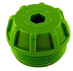 Replacement Cap for Green Cap Inline Pressure Washer Water Filter Strainer, 87099610