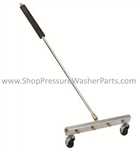 8.701-486.0 Pressure Washing Water Broom Sweeper Attachment 12 Inch