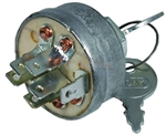 8.701-690.0 Universal 12 Volt DC Keyed Ignition Switch 6 Pole for small gas engines