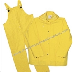 8.704-667.0 Heavy Duty EXTRA LARGE Safety Yellow Rain Suit